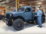 Modified 1942 Dodge Power Wagon at Jay Leno's Garage