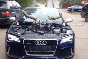 Modified Audi RS 7