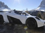 Montenergy Stratosferica roof conversion for the KTM X-Bow