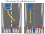 Moral Machine, a quiz about autonomous car ethics from the MIT Media Lab