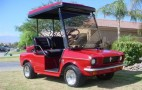 Anybody For Golf In A Mustang, 60's Mustang Golf Cart