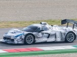 Mystery Ferrari race car prototype spy shots