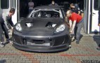 N.Technology Porsche Panamera Race Car Hits The Track