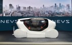 NEVS presents InMotion self-driving city car concept at 2017 CES Asia