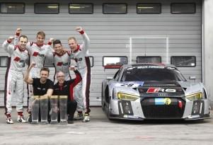 New Audi R8 LMS race car wins 2015 ADAC Zurich Nürburgring 24 Hours