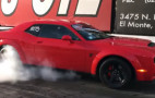 This hero bought a Dodge Challenger SRT Demon and went straight to the dragstrip