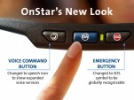 New OnStar buttons for select 2013 General Motors models