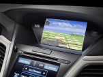 Next-generation AcuraLink connectivity system in the 2014 Acura RLX