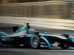 NextEV TCR (Team China Racing) competing in the Formula E Championship