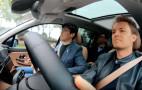 Nico Rosberg test drives the Nio ES8 electric SUV
