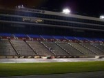 Night falls at the 2010 Chumpcar Texas Motor Speedway event.