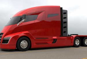 Nikola One 2000-hp natural gas-electric semi truck announced