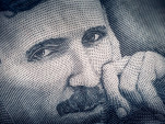 Nikola Tesla on Serbian dinar banknote