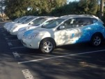 Nissan battery-switch prototype development vehicles, Better Place, Palo Alto, CA, July 2012