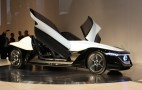 Nissan BladeGlider Concept: Live Shots Ahead Of Tokyo Motor Show