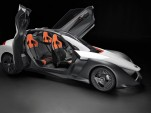 Olympics VIPs get rides in Nissan BladeGlider electric sports car