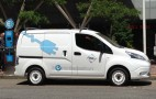 Driving Nissan e-NV200 All-Electric Small Commercial Van