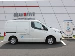 Nissan e-NV200 electric van prototype, Oppama, Japan, Oct 2012
