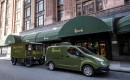 Nissan e-NV200 revolutionizes iconic Harrods fleet