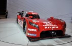Front-Wheel-Drive Nissan GT-R LM NISMO LMP1 Preview And Live Shots: Video