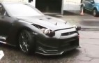 Yes, this Nissan GT-R has turbos for headlights
