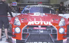 The Nismo team rebuilt its crashed GT-R GT3 race car in 12 hours