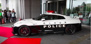 Nissan GT-R police car for Tochigi, Japan