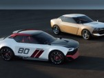 Nissan IDx NISMO (left) and IDx Freeflow concepts, 2013 Tokyo Motor Show