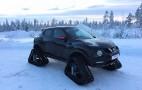 Nissan Juke RSnow Makes Tracks