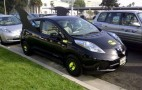 How Scary Are Electric Cars? BOO !!! It's A Nissan Leaf Batt-Mobile!