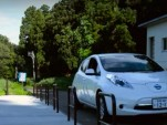 Nissan Leaf electric-car sharing in rural Japan