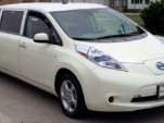 Nissan Leaf electric limo for sale on eBay