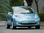 VIDEO: Driving The Nissan LEAF Test Mule