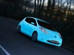 Glow In The Dark Nissan Leaf