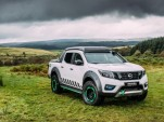 Nissan emergency truck concept: electric-car battery for rescue power