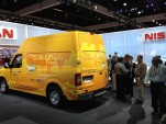 Nissan NV Food Trucks at 2011 LA Auto Show