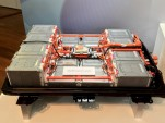 Nissan prototype 60-kWh battery pack  -  Nissan Technical Center, October 2015