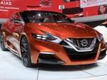 Nissan Sport Sedan Concept live photos, 2014 Detroit Auto Show
