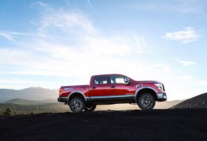 Nissan Titan factory lift kit