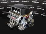 Nissan VK56DE racing V-8 engine