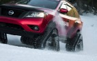 Nissan tames snow with Winter Warrior track trucks: Video