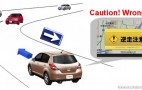Nissan developing system to prevent wrong-way driving