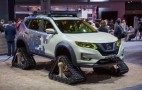 Nissan attacks the trails with tracks-wearing Rogue Warrior