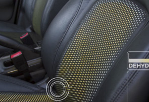 Nissan sweat-sensing seats to curb dehydration