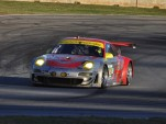 No. 45 Flying Lizard Porsche at Petit Le Mans - Anne Proffit photo