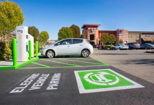 Illinois Bill To Fine Car Owners Who Park In Electric-Car Charging Spaces Waits For Governor's Signature
