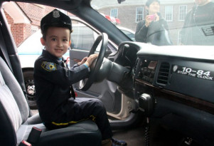 NYPD shows off its vintage patrol cars