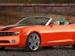 Official 2011 Camaro Convertible concept