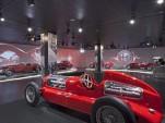 Official Alfa Romeo Museum in Milan, Italy
