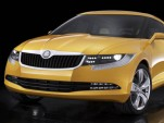 Official images of Skoda's Joyster concept